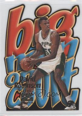 1996-97 Skybox Z Force Big Men on Court #10 - David Robinson