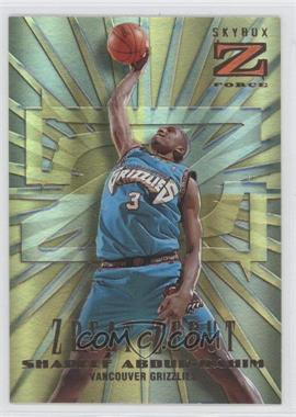 1996-97 Skybox Z Force Zpeat Zebut #1 - Shareef Abdur-Rahim