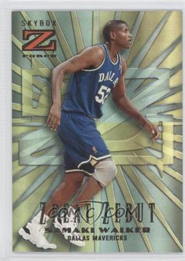 1996-97 Skybox Z Force Zpeat Zebut #18 - Samaki Walker