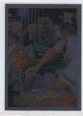 1996-97 Topps - [Base] - Foil NBA 50 #46 - Dee Brown
