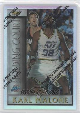 1996-97 Topps - Holding Court - Refractor #HC15 - Karl Malone