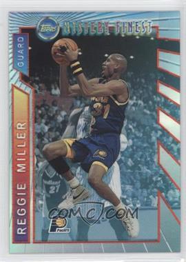 1996-97 Topps - Mystery Finest - Borderless Refractor #M22 - Reggie Miller