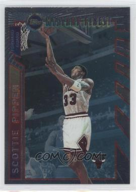 1996-97 Topps - Mystery Finest - Borderless #M1 - Scottie Pippen