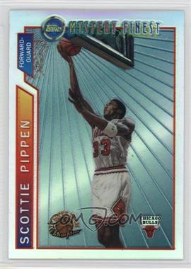 1996-97 Topps - Super Team Champions - NBA Finals Refractor #M1 - Scottie Pippen