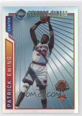 1996-97 Topps - Super Team Champions - NBA Finals Refractor #M17 - Patrick Ewing