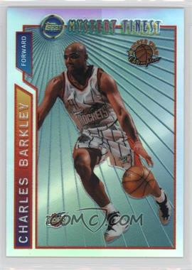 1996-97 Topps - Super Team Champions - NBA Finals Refractor #M21 - Charles Barkley
