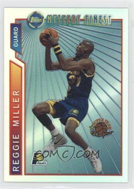 1996-97 Topps - Super Team Champions - NBA Finals Refractor #M22 - Reggie Miller