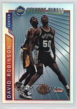 1996-97 Topps - Super Team Champions - NBA Finals Refractor #M9 - David Robinson
