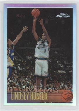 1996-97 Topps Chrome Refractor #174 - Lindsey Hunter