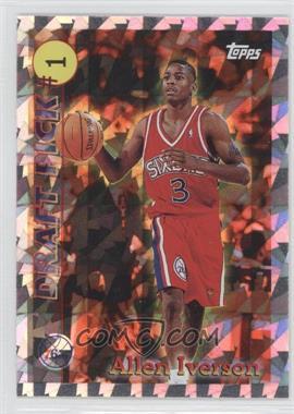 1996-97 Topps Draft Pick #DP1 - Allen Iverson