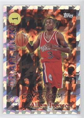 1996-97 Topps Draft Pick #DP1 - Allen Iverson