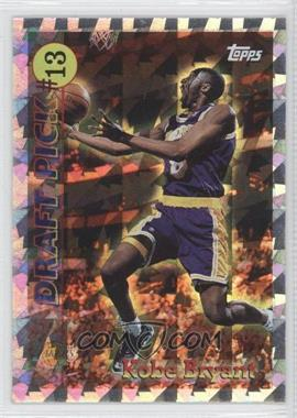 1996-97 Topps Draft Pick #DP13 - Kobe Bryant