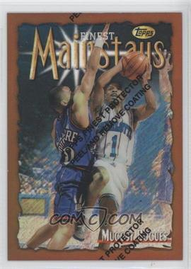 1996-97 Topps Finest - [Base] - Refractor #154 - Tyrone Bogues