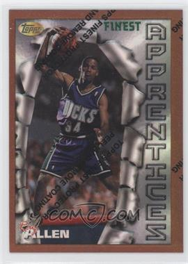 1996-97 Topps Finest - [Base] - Refractor #22 - Ray Allen