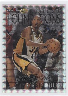 1996-97 Topps Finest - [Base] - Refractor #270 - Reggie Miller