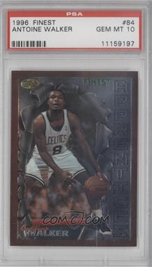 1996-97 Topps Finest - [Base] #84 - Antoine Walker [PSA 10]