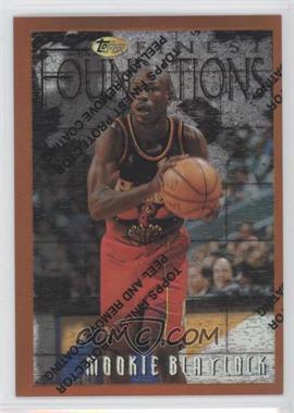 1996-97 Topps Finest Refractor #147 - Mookie Blaylock