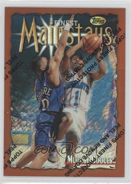 1996-97 Topps Finest Refractor #154 - Tyrone Bogues