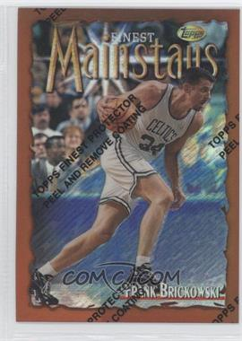 1996-97 Topps Finest Refractor #164 - Frank Brickowski