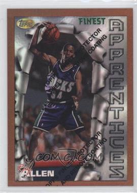 1996-97 Topps Finest Refractor #22 - Ray Allen