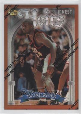 1996-97 Topps Finest Refractor #222 - Isaiah Rider