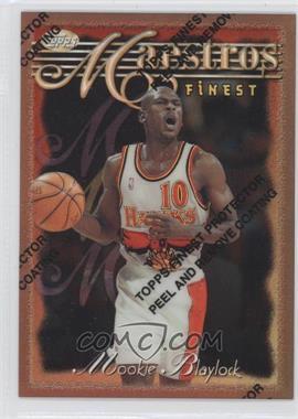 1996-97 Topps Finest Refractor #46 - Mookie Blaylock