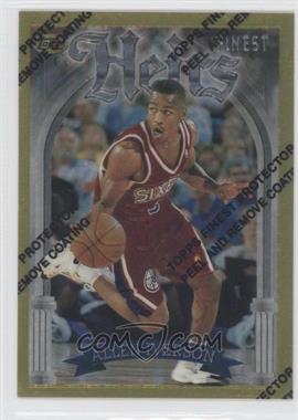 1996-97 Topps Finest #280 - Allen Iverson
