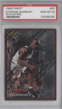 1996-97 Topps Finest #62 - Stephon Marbury [PSA 10]