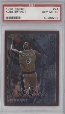 1996-97 Topps Finest #74.1 - Kobe Bryant (Bronze Border) [PSA10]