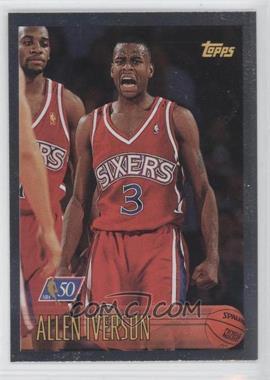 1996-97 Topps Foil NBA 50 #171 - Allen Iverson