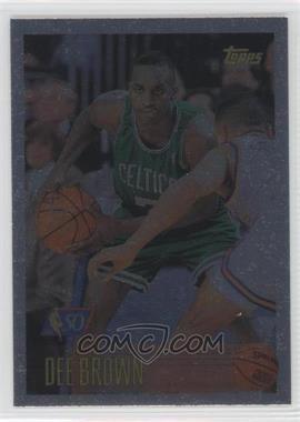 1996-97 Topps Foil NBA 50 #46 - Dee Brown
