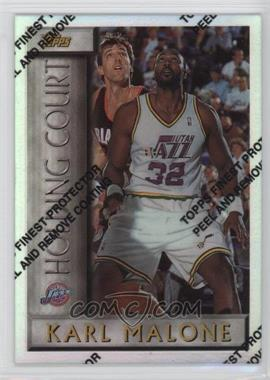 1996-97 Topps Holding Court Refractor #HC15 - Karl Malone