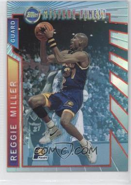 1996-97 Topps Mystery Finest Borderless Refractor #M22 - Reggie Miller