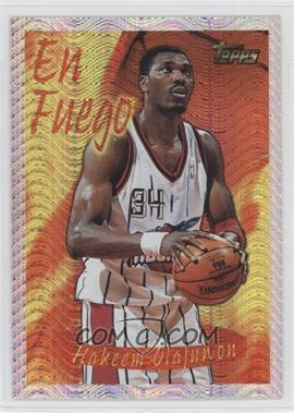 1996-97 Topps Season's Best #2 - Hakeem Olajuwon