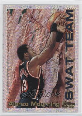 1996-97 Topps Season's Best #25 - Alonzo Mourning