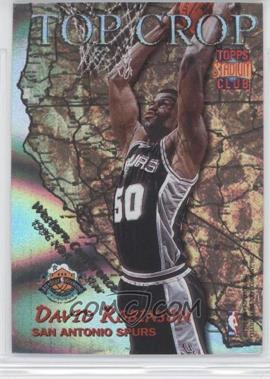 1996-97 Topps Stadium Club - Top Crop #TC 3 - David Robinson, Patrick Ewing