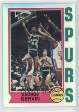 1996-97 Topps Stadium Club Finest Reprints Refractor #18 - George Gervin