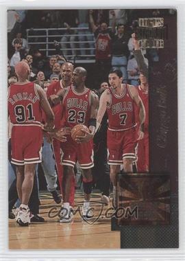1996-97 Topps Stadium Club Golden Moments #GM 3 - Chicago Bulls Team