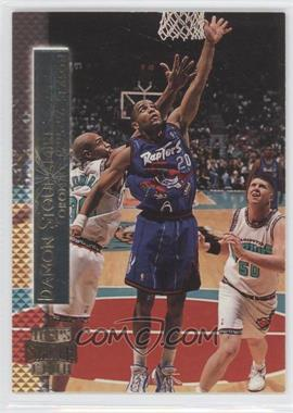 1996-97 Topps Stadium Club Shining Moment #SM 10 - Damon Stoudamire
