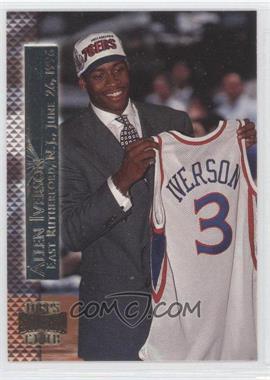 1996-97 Topps Stadium Club Shining Moment #SM 15 - Allen Iverson