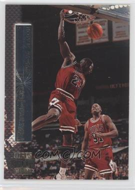 1996-97 Topps Stadium Club Shining Moment #SM 2 - Michael Jordan