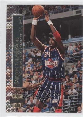 1996-97 Topps Stadium Club Shining Moment #SM 4 - Hakeem Olajuwon