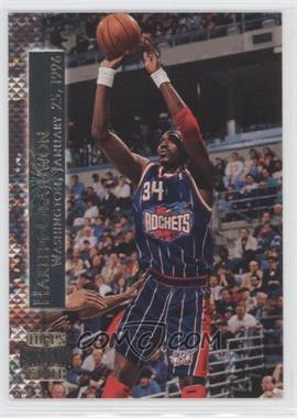 1996-97 Topps Stadium Club Shining Moments #SM 4 - Hakeem Olajuwon