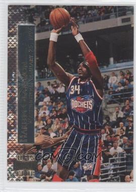 1996-97 Topps Stadium Club Shining Moments #SM 4 - Hakeem Olajuwon