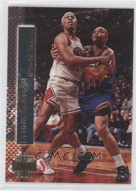 1996-97 Topps Stadium Club Shining Moments #SM 9 - Dennis Rodman