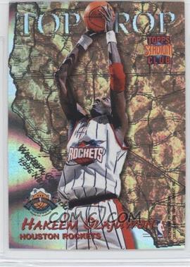 1996-97 Topps Stadium Club Top Crop #TC 1 - Hakeem Olajuwon, Shaquille O'Neal