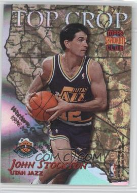 1996-97 Topps Stadium Club Top Crop #TC 10 - John Stockton, Terrell Brandon