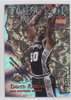 1996-97 Topps Stadium Club Top Crop #TC 3 - David Robinson, Patrick Ewing