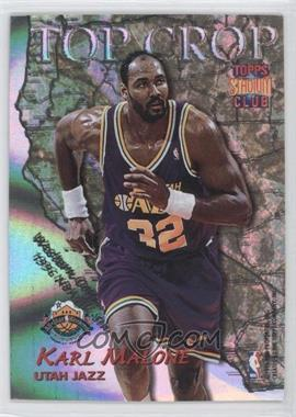 1996-97 Topps Stadium Club Top Crop #TC 6 - Karl Malone, Vin Baker