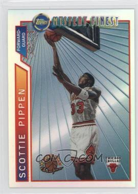 1996-97 Topps Super Team Champions NBA Finals Refractor #M1 - Scottie Pippen